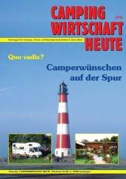 Camperwünschen auf der Spur - Campingwirtschaft