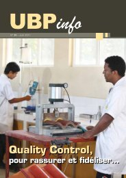 Quality Control, - The United Basalt Products Ltd