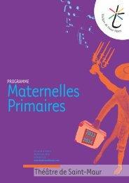 Programme maternelles-primaires 2013-2014 - Théâtre de Saint-Maur