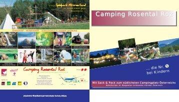 Campingplatzprospekt