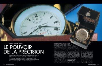LE POUVOIR DE LA PRÉCISION - Uhrsachen