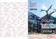 NANTES - Ecoles de la rénovation urbaine