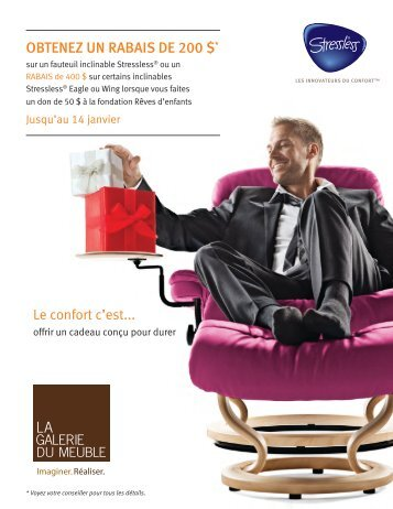 Inclinables magazines for Gallerie du meuble