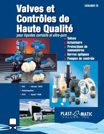 Catalog 23_FR.qxp - Plast-O-Matic Valves, Inc