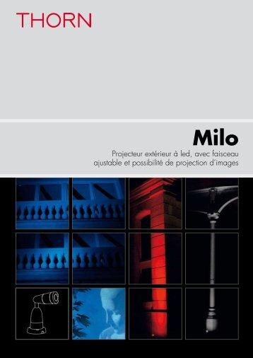 Milo I - THORN Lighting [Accueil]