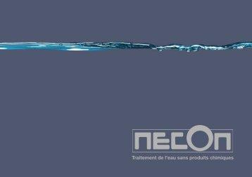 NECON Traitement de l'eau 100% sans produits chimiques - klimex
