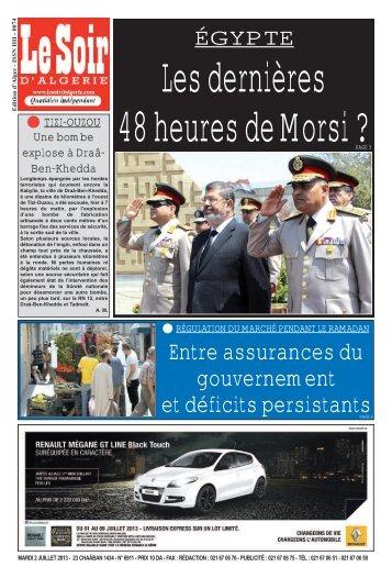 Entre assurances du gouvernement et déficits ... - Le Soir d'Algérie