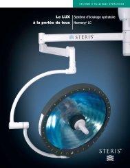 Le LUX à la portée de tous - STERIS Surgical Technologies
