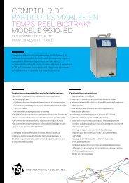 compteur de particules viables en temps reel biotrak® modele ... - TSI