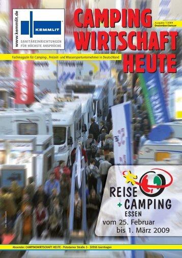 vom 25. Februar bis 1. März 2009 - Campingwirtschaft Heute