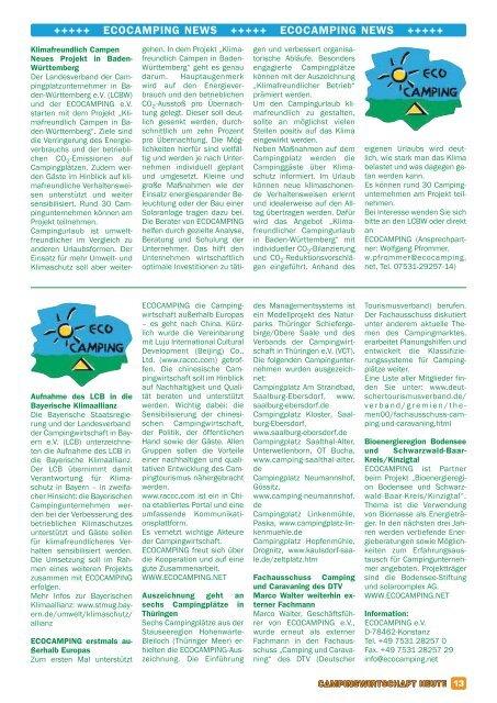 www .k e m m lit.d e - Campingwirtschaft