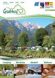 Camping Wirtshaus Almdorf Wellness - ADAC Camping-Caravaning ...