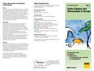 Freies Campen und Übernachten in Europa (CAM 21) 80 KB