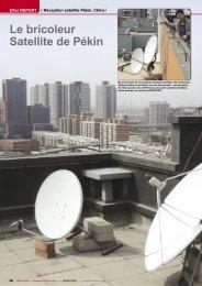 Le bricoleur Satellite de Pékin