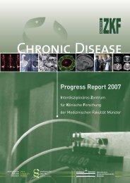 Progress Report 2007 - bei der Medizinischen Fakultät
