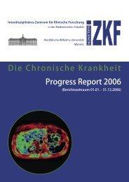 Die Chronische Krankheit Progress Report 2006 - bei der ...
