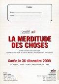 Dossier de Presse - La merditude des choses - Page 3