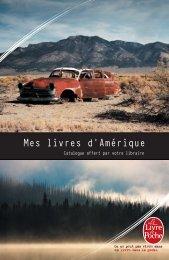 Mes livres d'Amérique - Le Livre de Poche