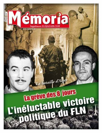 Supplément ELDJAZAIR.COM - Memoria
