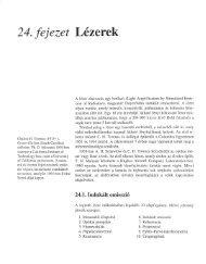 24. fejezet Lézerek