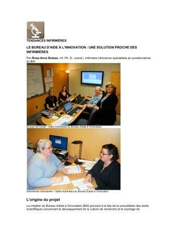 Cyberjourn@al - Ordre des infirmières et des infirmiers du Québec