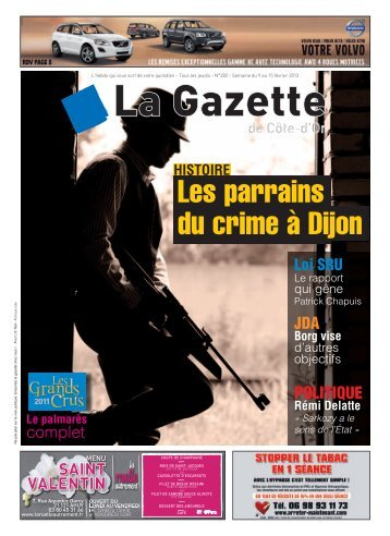 Télécharger le numéro - La Gazette de Côte d'Or