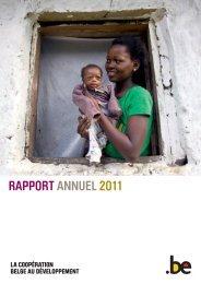 DGD Rapport annuel 2011 - Belgium