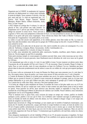 Article - Limoux