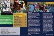 Journal de l'automne - Camps Maristes
