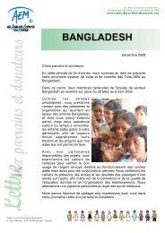 BANGLADESH - Amis des Enfants du Monde