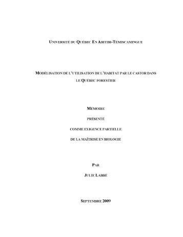 Télécharger (1248Kb) - DEPOSITUM - Université du Québec en ...