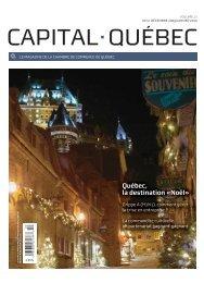 Québec, la destination «Noël» - Chambre de commerce de Québec