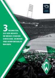 Info-Flyer (PDF) - Werder Bremen