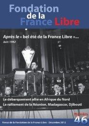 décembre 2012 - Fondation de la France Libre