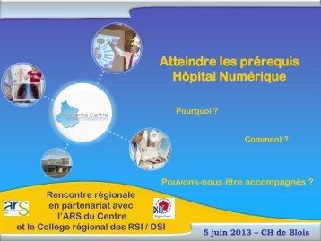 Atteindre les prérequis Hôpital Numérique - Portail Santé Région ...