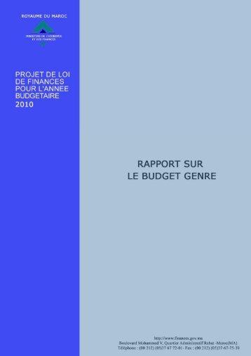 En Français - Ministère de l'économie et des finances