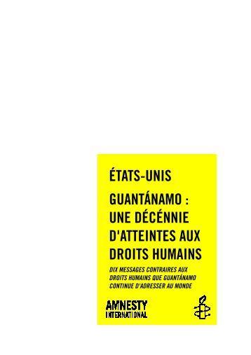 une décennie d'atteintes aux droits humains - Amnistie ...
