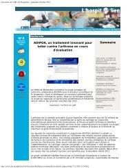 Imprimer l'article en pdf - CHU Montpellier