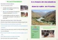 Les risques des inondations dans la vallée de l'Ourika - Agence du ...