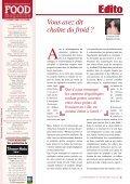 Chaîne du froid Chaque maillon compte ! - FOOD MAGAZINE - Page 3