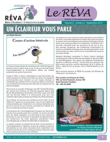 Volume 2 numéro 3 - Centre de santé et de services sociaux du Lac ...