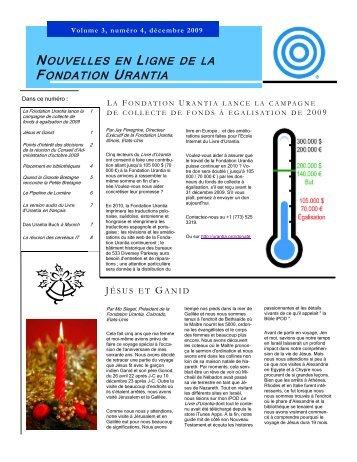 Volume 3, numéro 4, décembre 2009