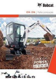 E14 - E16 | Pelles compactes - Bobcat.eu