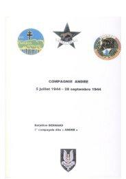 La compagnie ANDRE (1944) {PDF} - Académie de Créteil