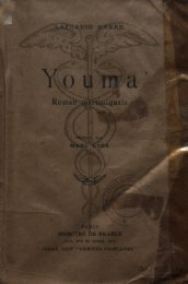 Youma : roman martiniquais - Manioc