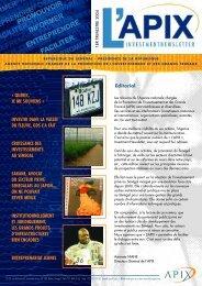 Publications Pubié le 28 octobre 2011 - PDF - 1 Mo - Apix