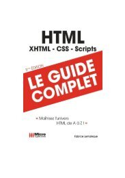 Livre MicroApplication – HTML.Guide.Complet FR
