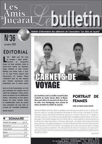bulletin 36 - Les Amis de Juçaral