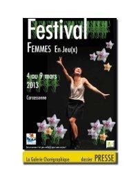 Festival Femmes En-Jeu(X) - Carcassonne