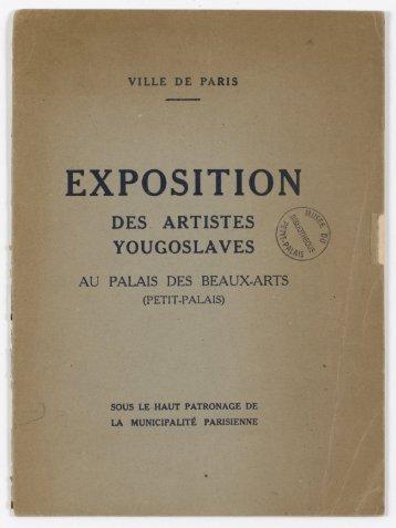 EXPOSITION - Le Petit Palais - Ville de Paris